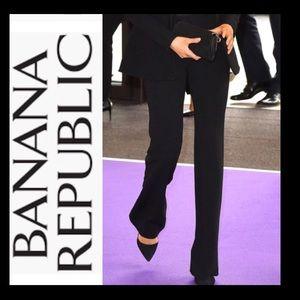 BANANA REPUBLIC Velvet Wide Leg Trouser